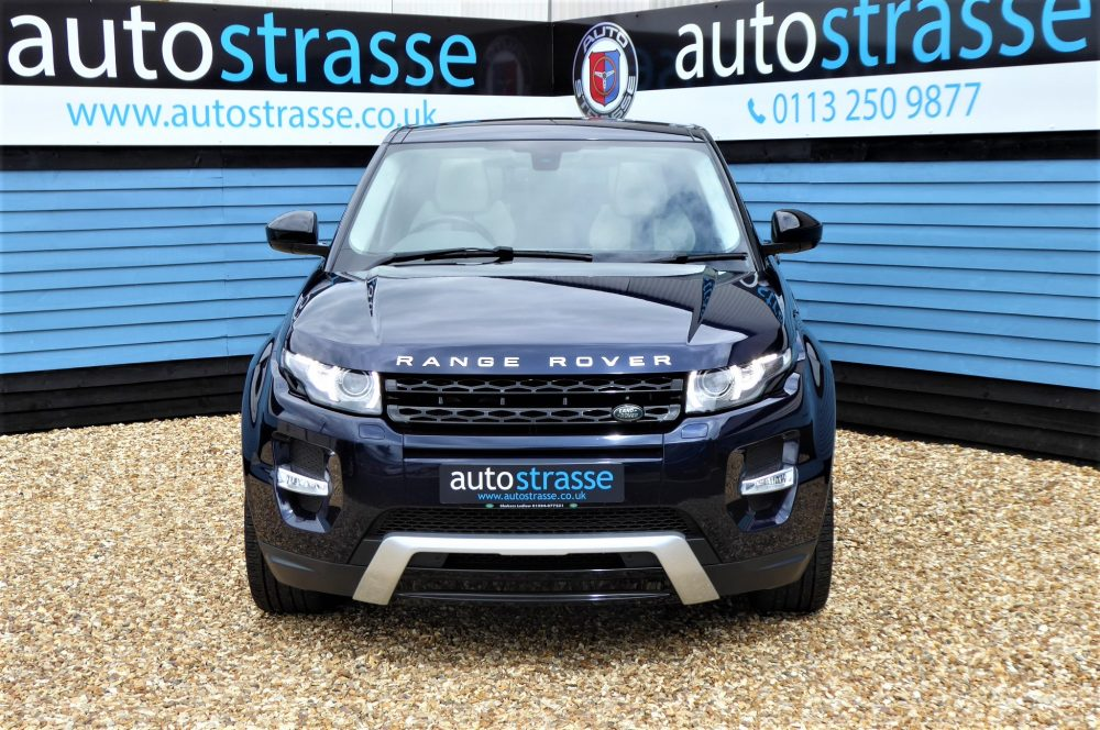 Land Rover Range Rover Evoque front grill