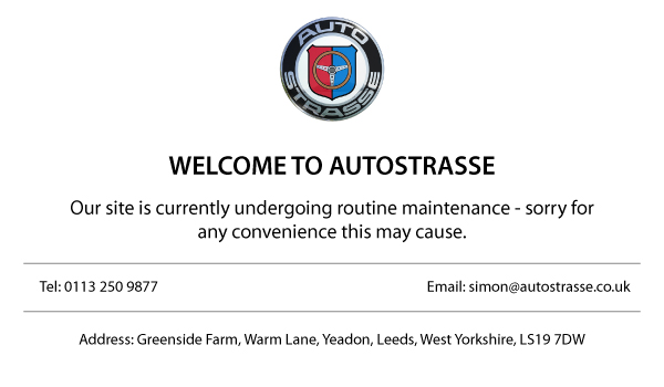 AutoStrasse - Website Maintenance